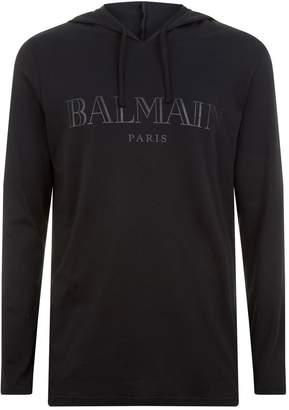 Balmain Lightweight Logo Hoodie