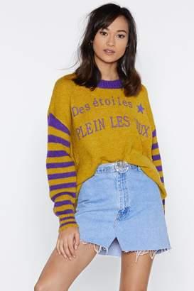 Nasty Gal Des Etoiles Plein Les Yeux Sweater