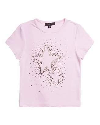Imoga Studded Star Jersey T-Shirt, Size 4-6
