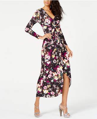 Thalia Sodi Printed Maxi Dress