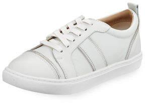 Botkier Harvey Zip-Trim Leather Sneakers