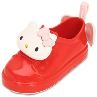 Mini Melissa HELLO KITTY SCENTED RUBBER SNEAKERS
