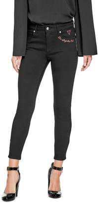 GUESS Factory Women's Ellia Mid-Rise Skinny Jeans