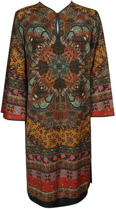 Etro Kaleidoscope Print Dress