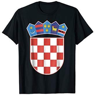 Croatia coat of arms T-shirt Tee Tees T Shirt Tshirt