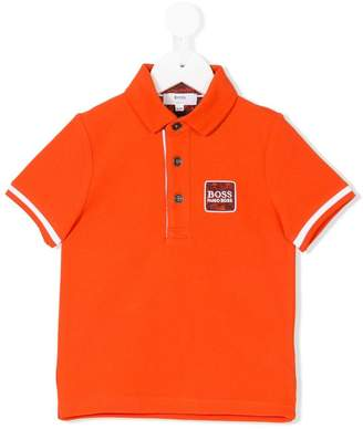 Boss Kids short-sleeve polo shirt
