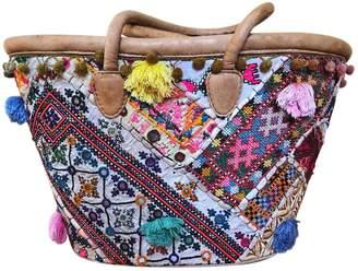 Antik Batik Multicolour Leather Handbag