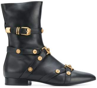 Versace Tribute booties