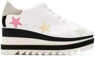 Stella McCartney Sneak-Elyse pastel star sneakers