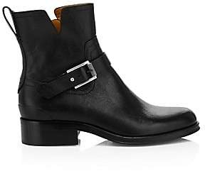 Rag & Bone Women's Abel Buckle Leather Moto Boots