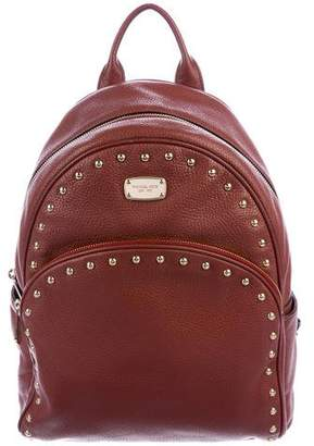 Michael Kors Michael Leather Abbey Backpack