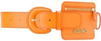 Jacquemus coin purse belt