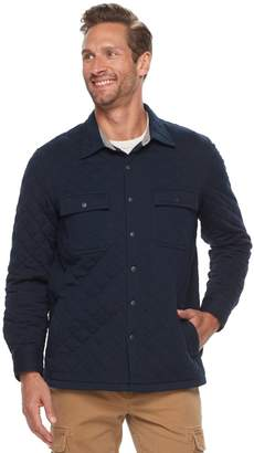 Croft & Barrow Men's Classic-Fit Quilted Outdoor Shirt Jacket