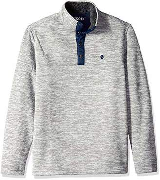 Izod Men's Essential Snap Front Sweater Fleece