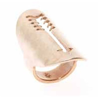 House of Harlow Long Arrow Ring in Rose Gold