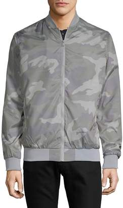 Sovereign Code Men's Largo Camouflage Bomber Jacket