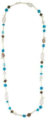 Kendra Scott Multistone Ruth Long Necklace
