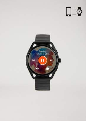 Emporio Armani Stainless Steel Touchscreen Smartwatch
