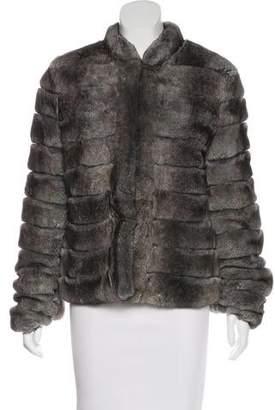 Armani Collezioni Rabbit Fur Jacket