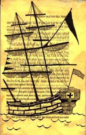Lisa Congdon Small Ship