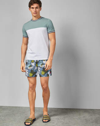 34b5bc076 Ted Baker ORCA Tropical print swim shorts