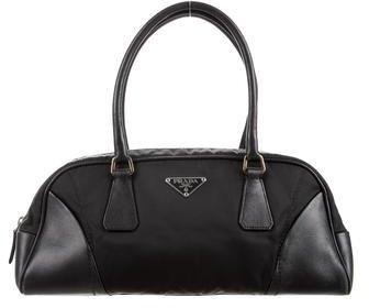 pradaPrada Tessuto & Leather Bag