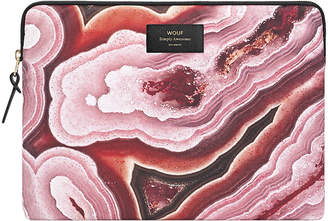 Pink Mineral Laptop Case