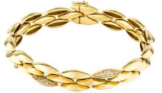 Alexis Bittar 18K Diamond Marquise Tennis Bracelet