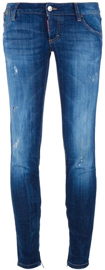 DSquared DSQUARED2 cropped skinny jean