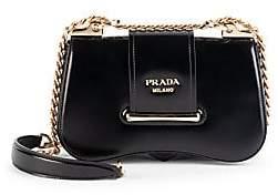 Prada Women's Sidonie Patent Leather Crossbody Bag