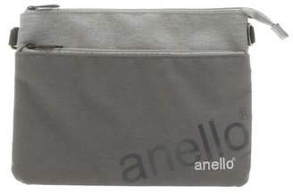 Anello (アネロ) - バックヤード アネロ anello AT−B2761 杢調ポリエステル Wネームサコッシュ
