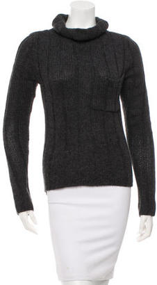 Vera Wang Rib Knit High-Low Sweater $75 thestylecure.com
