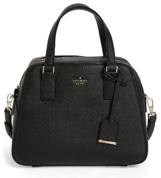 Kate Spade New York Cameron Street - Little Babe Leather Satchel - Black $298 thestylecure.com