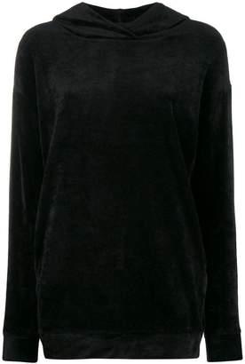Majestic Filatures velvet hoodie