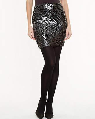Le Château Sequin Mini Skirt