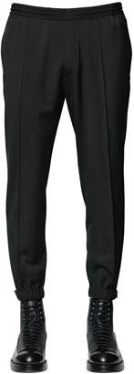 DSQUARED2 Stretch Wool Cady Sweatpants