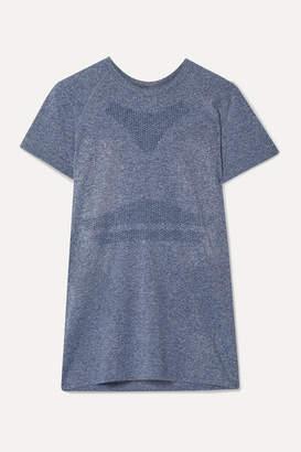 LNDR Quest Seamless Stretch T-shirt - Light blue
