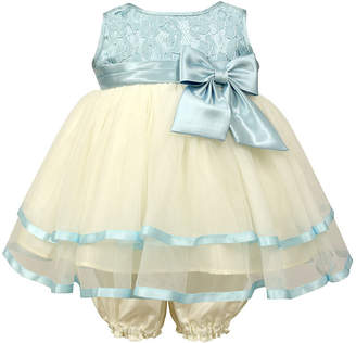 Jayne Copeland Seafoam Lace With Tiered Skirt