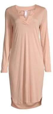 Hanro Malie Long Sleeve Sleep Dress
