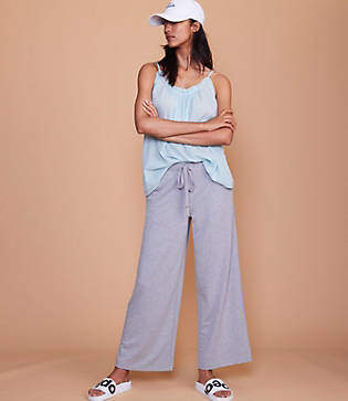 Lou & Grey Terry Drawstring Pants