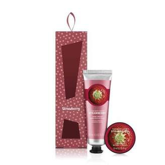 The Body Shop Strawberry Lip & Hand Cream Duo Gift Set