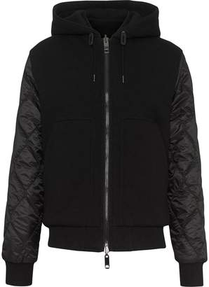 Burberry Reversible Diamond Quilted Hooded Jacket