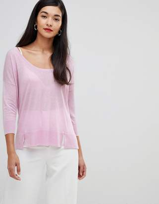French Connection Spring lightweight silk blend sweater