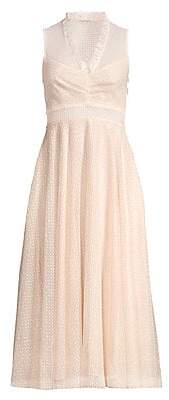 Sandro Women's Cassy Tulle Tea Dress