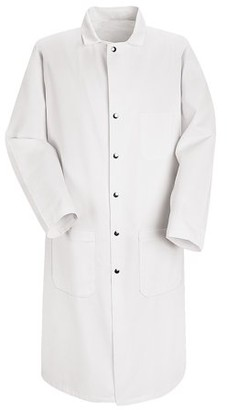 Red Kap Men's Full Cut Butcher Coat