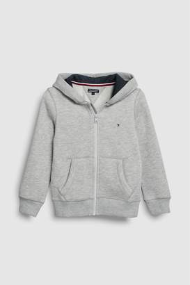 Next Boys Tommy Hilfiger Grey Basic Full Zip Hoody