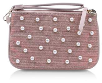 Nine West 'Top Zip Wristlet Pouch'
