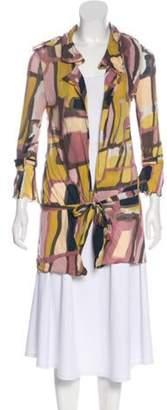 Marni Medium-Weight Long Sleeve Cardigan Yellow Medium-Weight Long Sleeve Cardigan