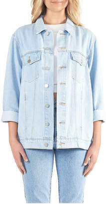 Miss Shop A Drew Oversized Denim Jacket