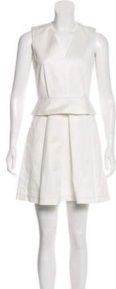 Proenza Schouler Peplum Mini Dress
